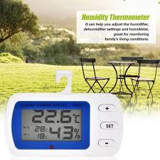 <b>Waterproof Digital LCD</b> Freezer Refrigerator Thermometer with ...
