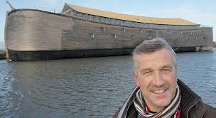 Голландец, построивший <b>Ноев ковчег</b> в натуральную величину ...
