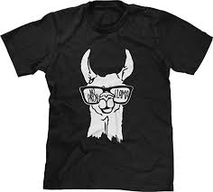Blittzen Mens T-Shirt No Prob Llama: Clothing - Amazon.com