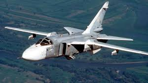 Image result for Russian Su-24 fighter jet PHOTO