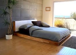 Contemporary Wood Platform Beds