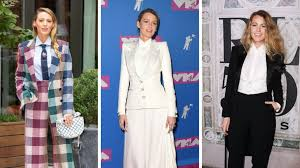 The Gorgeous <b>Suits</b> Blake Lively Has Worn On 'A Simple Favor ...