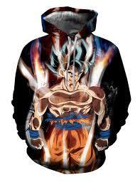 New Dragon Ball <b>Animation 3D Print Hoodie/Sweatshirt</b> Unisex ...