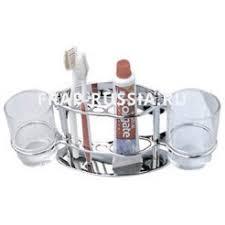 <b>Держатель с 2-мя стаканами</b> Frap F101 Хром