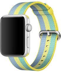 <b>Ремешок Apple Nylon Band</b> для Apple Watch 42 мм (желтая пыльца)