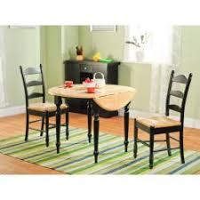 three piece dining set: simple living  piece ladderback dining set
