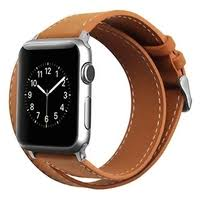 <b>Cozistyle</b> Double Tour <b>Leather Band</b> for Apple <b>Watch</b> 42/44mm ...