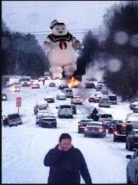 NC snow meme: Attack on Glenwood Ave :: WRAL.com via Relatably.com