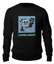 Свитшот унисекс хлопковый Loneliness #2659126 от Tony Vivaldi ...