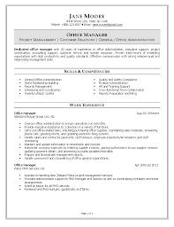 resume functional summary customer service resume customer office office manager resume office admin resume sample office manager resume template office manager sample resume