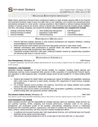 resume for financial services resume template financial services resume samples professioanl