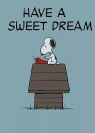 Snoopy thoughts.. | Have a <b>sweet dream</b>, Snoopy, Snoopy pictures