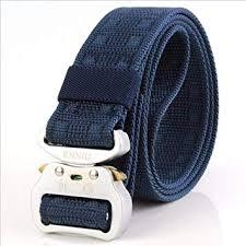 <b>Belt Men Canvas Belt</b> Aluminum <b>Quick</b>-Release Insert Buckle ...