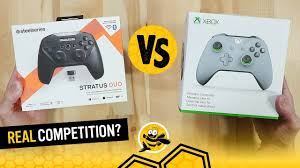 <b>SteelSeries Stratus Duo</b> vs Xbox One Controllers - YouTube