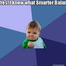 Meme Maker - Yes! I know what Smarter Balanced Group Ii'm in! Meme ... via Relatably.com