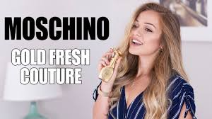 <b>Moschino Gold Fresh Couture</b> Perfume Review! - YouTube