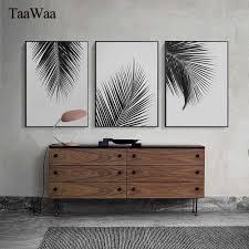 <b>TAAWAA</b> Abstract <b>Golden</b> Moon Plant Flower Wall Art Canvas ...