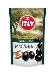 Купить <b>маслины</b> ITLV selecto с косточкой 165 г, цены в Москве на ...