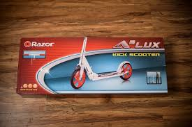 Обзор от покупателя на <b>Самокат Razor A5 Lux</b>, Серебристо ...