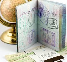 Документы на визу в США.