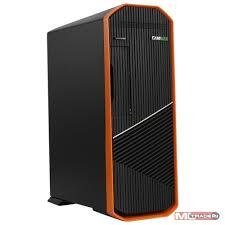 <b>Корпуса GameMax</b> [<b>S702-O</b>] (300 W) SFF case, Черно-оранж, USB ...