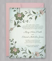 invitations print watercolor flowers invitation template
