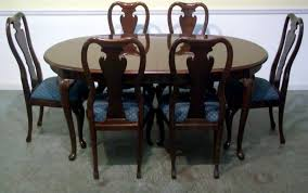 Solid Cherry Dining Room Table Thomasville Dining Set Piece Thomasville Cherry Dining Set