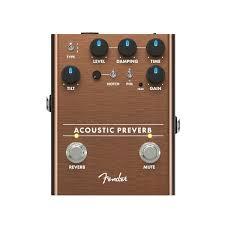 <b>Педаль эффектов FENDER Acoustic</b> Preamp/Reverb