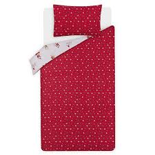 Red <b>Christmas Dog</b> Print Reversible Duvet Set | Home | George at ...