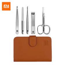Xiaomi mijia <b>HUOHOU 5PCS</b>/Set Stainless Steel <b>Nail Clipper</b> ...