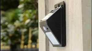Светодиодный уличный <b>светильник</b> с датчиком движения ...