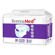 <b>TerezaMed Подгузники</b> для взрослых, <b>large super</b> 28 шт - купить ...
