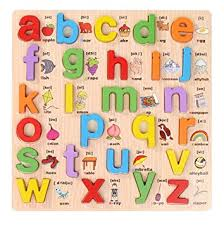 Grsafety <b>abc Alphabet Learning</b> English Kids Children Wooden Peg ...