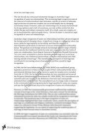 legal studies same sex marriage essay   year  hsc   legal    legal studies same sex marriage essay