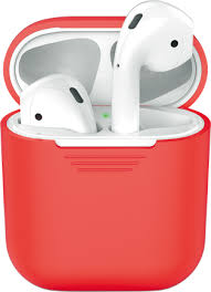 Купить <b>Чехол</b>-<b>футляр Deppa</b> для Apple AirPods Red по выгодной ...