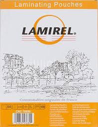 Купить <b>Пленка для ламинирования FELLOWES</b> Lamirel, 75мкм ...