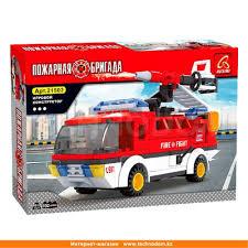 Дет. <b>Конструктор</b>, <b>Ausini Пожарная бригада</b>, Мобильный отряд ...