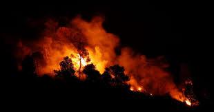 Uma frente ainda ativa no fogo em Tabuaço