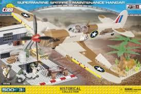 """<b>Пластиковый конструктор COBI</b> """"<b>Самолет</b> Supermarine Spitfire ..."""