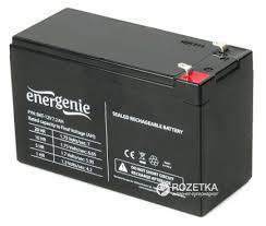 Аккумуляторная <b>батарея</b> EnerGenie <b>12V</b> 7.2Ah (<b>BAT</b>-<b>12V7</b>.<b>2AH</b>).