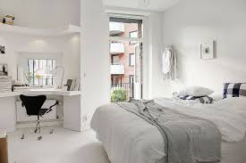 bedroom design set alvhem  natural ventilation and corner workspace add to the charm of the loft