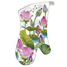 Buy <b>Michel Design Works</b> Oven Mitt, <b>Water</b> Lilies Online at Low ...