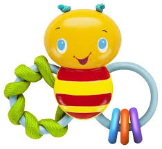 <b>Погремушка Bright Starts</b> Пчелка — купить по выгодной цене на ...