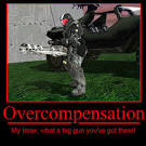 Images & Illustrations of overcompensate