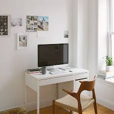 ikea micke computer desk with integrated storage chic ikea micke desk white
