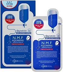 Mediheal <b>N.M.F Aquaring Ampoule Mask</b> EX Upgrade 3X: Amazon ...