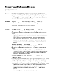 cover letter resume sample summary sample resume summary statement cover letter customer service rep resume summary en cdl driver image career examples easy samples aaa