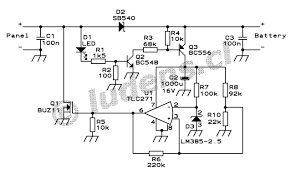 schematic for solar panels solar panel circuit diagram schematic on simple battery isolator schematic