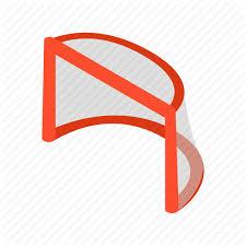 Athlete, <b>equipment</b>, <b>gates</b>, goal, <b>hockey</b>, isometric, winter icon