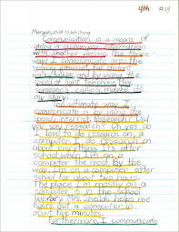the program write reflections this is a web and writing example for grade 4 week 7 the structure and details have expanded to a five paragraph essay